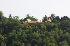 ASK 13 di Benigni in atterraggio