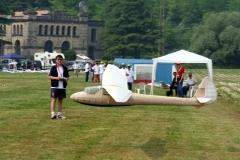 CAT28BP di Alfredo Borghi in atterraggio