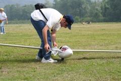 Preparativi prima del volo per l'ASH25 di Barbieri Gianluca